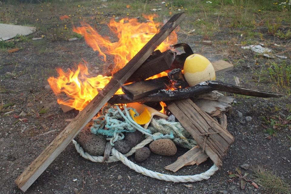 Standard fire plastic
