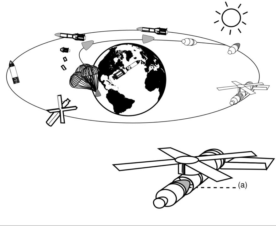 Standard skylab crew module