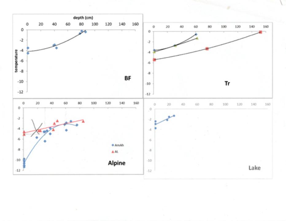 Standard david snowtemp chart