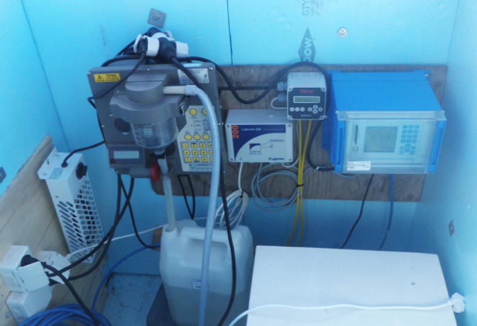 Standard hydrologybox interior