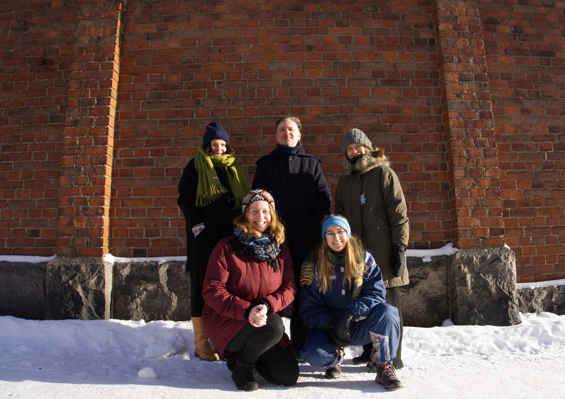 Solu staff in february 2021 outdoors landscape photo by mari keski korsu small
